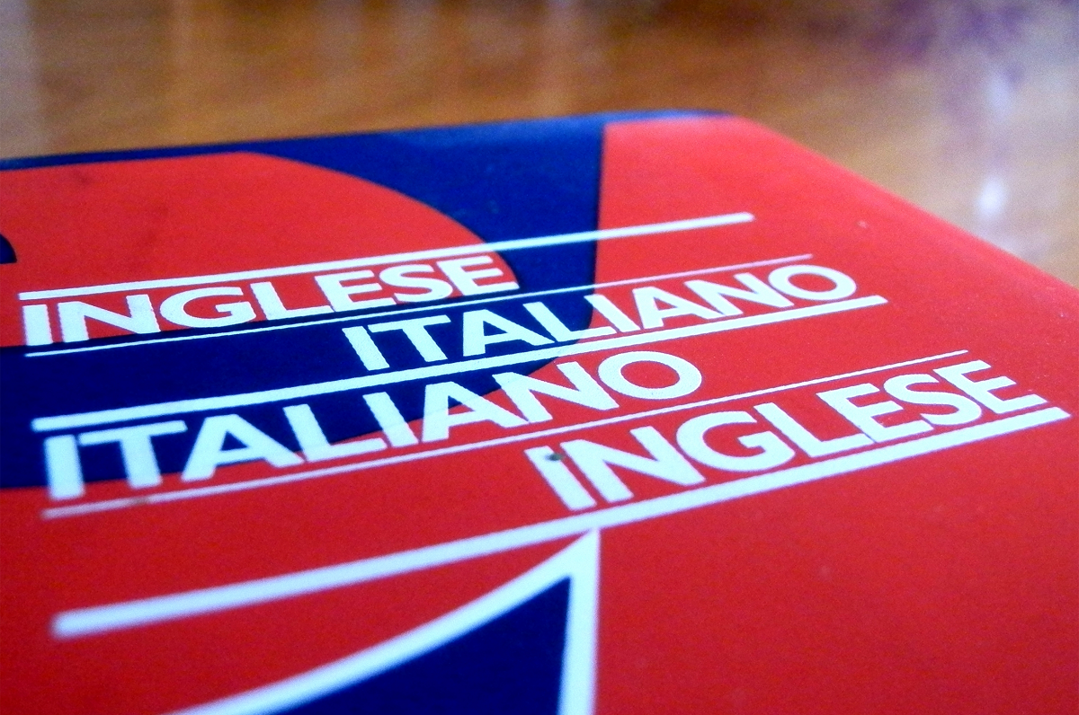 Differences between Italian and English