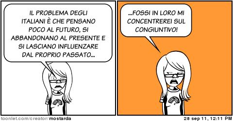 Grammatica italiana: imparare l'uso del congiuntivo