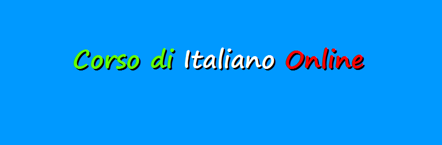 Corso di Italiano online