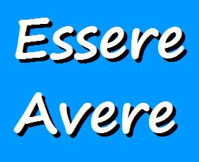 Grammatica italiana, verbi ausiliari essere e avere